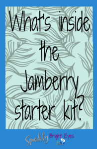 What's inside the Jamberry starter kit