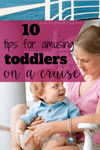 Crusing with toddlers -10 tips for amusing toddlers on a cruise