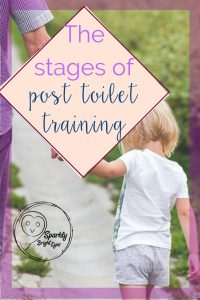 Stages of post toilet training - when toilet training is finished